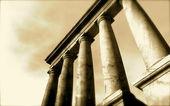 3d antique classical architecture roman monument render — Stockfoto