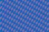 3d render blue purple tiled wall floor pavement — Stock fotografie