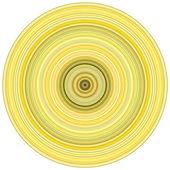абстрактный фон 3d визуализации концентрические трубы в нескольких yello — Стоковое фото