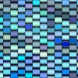 Abstract 3d render multiple blue purple backdrop pattern — Stock Photo