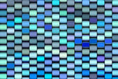 Abstract 3d render multiple blue purple backdrop pattern — Stock Photo