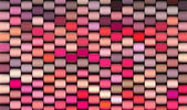 Abstract 3d render multiple pink cylinder backdrop pattern — Stock Photo