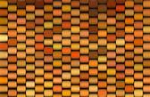 Abstract 3d render multiple orange cylinder backdrop pattern — Stock Photo