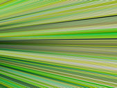 3d green color abstract striped backdrop render — Stock Photo