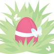 Easter egg — Vector de stock #9636972