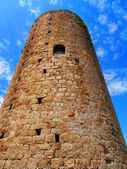 Medieval Tower of the Hours of Pals, Catalonia, Spain — Stock Photo