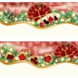 Royalty-Free Stock Vector Image: Casino Christmas banners, vector illustration