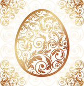 Easter card, vector illustration — Stock Vector