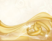 Wedding banner, vector illustration — 图库矢量图片