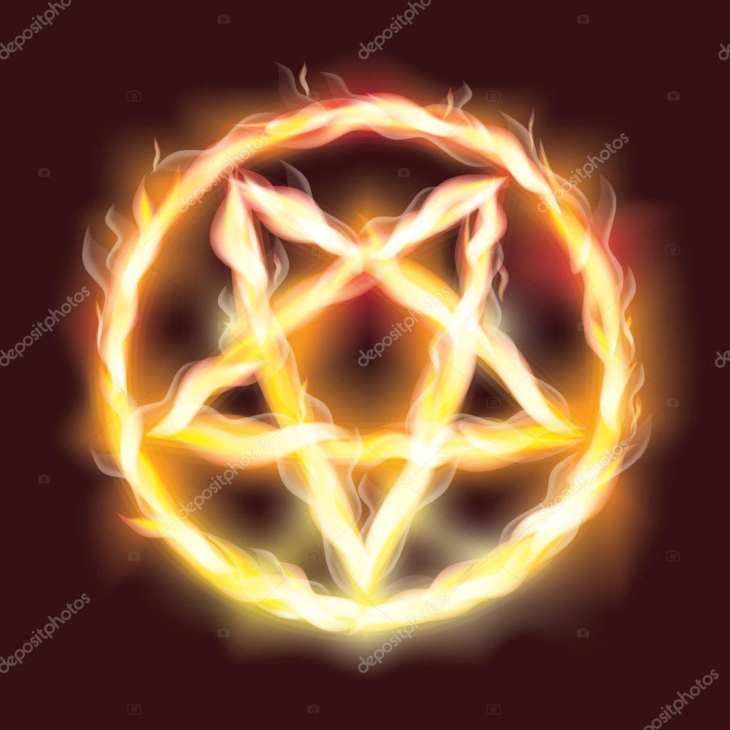 Знак сатаны фото звезды