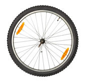 Bike front wheel — Stock Photo