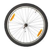 Roda dianteira da bicicleta — Foto Stock