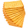Royalty-Free Stock Photo: Crackers pile