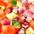 Royalty-Free Stock Photo: Chopped vegetables