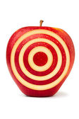 Red aim apple — Stock Photo