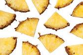 Pineapple chunks — Stock Photo