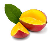 Cut mango — Stock Photo