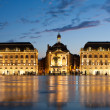 Place de lBourse in Bordeaux — Stock Photo #9458068