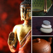 Buddha zen statue — Stock Photo