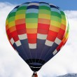 Colorful hot air balloon — Stock Photo #9458135