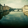 View of ponte vecchio in florence, italy — Stock Photo #9458188