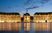 Place de la Bourse in Bordeaux — Stock Photo