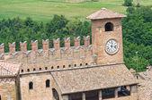 Podestà's Palace. Castell'Arquato. Emilia-Romagna. Italy. — 图库照片