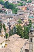 Panoramatický pohled na milano. emilia-romagna. itálie. — Stock fotografie