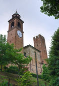 Castle of Castelnuovo Fogliani. Emilia-Romagna. Italy. — Stock Photo