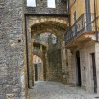 Castle of Vigoleno. Emilia-Romagna. Italy. — Foto Stock
