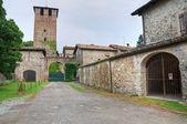 Vigolzone 的城堡。艾米利亚-罗马涅。意大利. — 图库照片