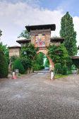 View of Grazzano Visconti. Emilia-Romagna. Italy. — Stock Photo