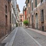 Alleyway. Piacenza. Emilia-Romagna. Italy. — Stock Photo #10103573