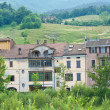Stock Photo: Panoramic view of Bettola. Emilia-Romagna. Italy.
