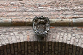 Farnese palace. Piacenza. Emilia-Romagna. Italy. — Zdjęcie stockowe