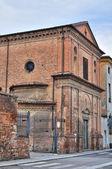 サン ・ ジュゼッペ教会。ピアチェンツァ。エミリア = ロマーニャ州。イタリア. — ストック写真