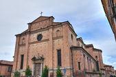 Church of Holy Sepulchre. Piacenza. Emilia-Romagna. Italy. — Stock Photo