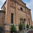 Church of Holy Sepulchre. Piacenza. Emilia-Romagna. Italy. — Stock Photo