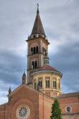Kościół bożego ciała. piacenza. emilia-romania. włochy. — Zdjęcie stockowe