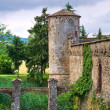 Castle of Lisignano. Gazzola. Emilia-Romagna. Italy. — Stock Photo