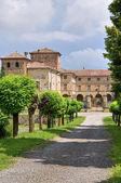 Castle of Agazzano. Emilia-Romagna. Italy. — Stock Photo