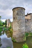 Castillo de lisignano. gazzola. emilia-romaña. italia. — Foto de Stock