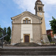 Church of St. Bernardino. Bettola. Emilia-Romagna. Italy. - Stockfoto