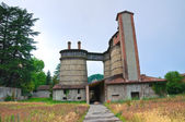 Old furnaces. Ponte dell'Olio. Emilia-Romagna. Italy. — Stock Photo