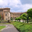 Royalty-Free Stock Photo: Castle of Agazzano. Emilia-Romagna. Italy.