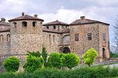 Kasteel van agazzano. Emilia-Romagna. Italië. — Stockfoto