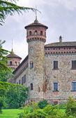 Burg des rezzanello. emilia-romagna. italien. — Stockfoto