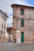 Uličky. rivergaro. emilia-romagna. itálie. — Stock fotografie