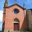 St. Lorenzo Church. Veano. Emilia-Romagna. Italy. — Stock Photo