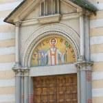 St. Lorenzo Church. Gazzola. Emilia-Romagna. Italy. — Stock Photo #10212115